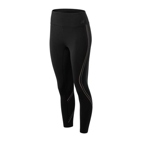 New Balance Women's High Rise Printed Transform Crop Leggings product image
