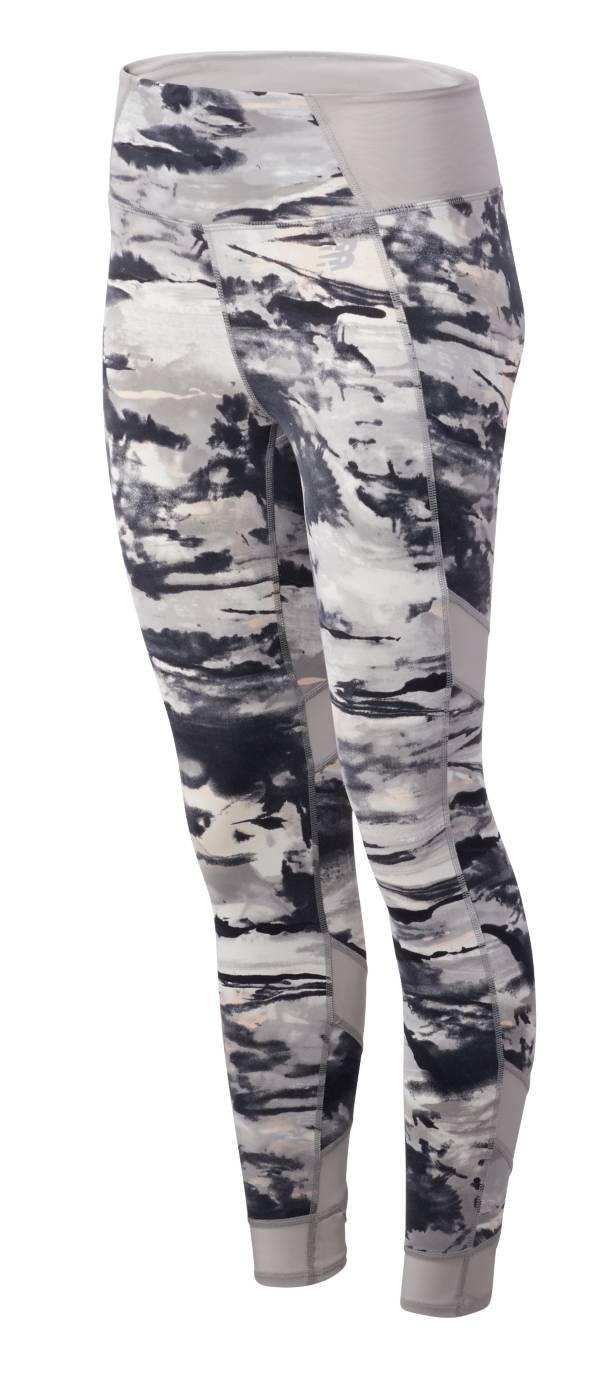 New Balance Women's Printed Evolve 7/8 Tights product image