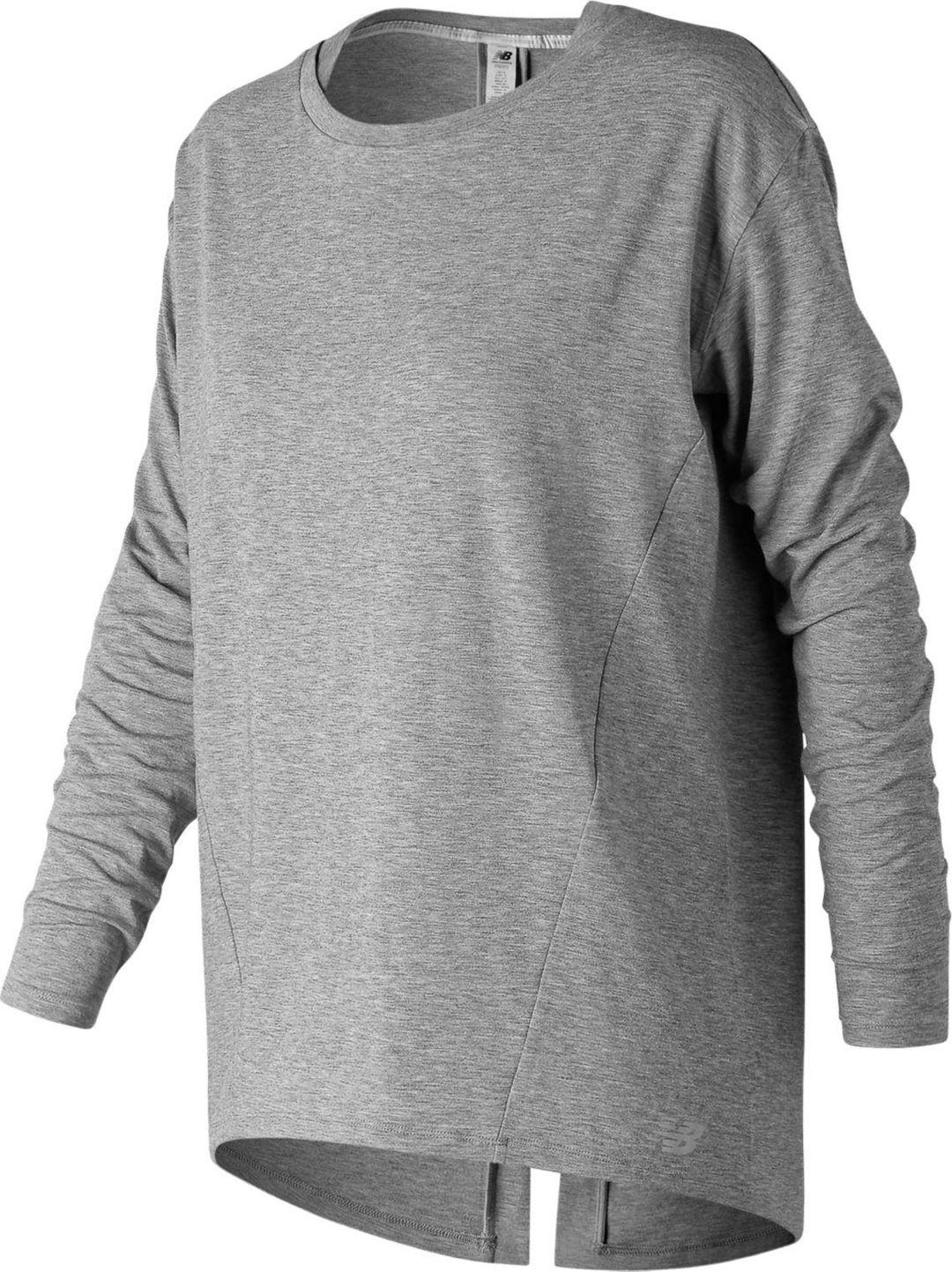 547113d734160 New Balance Women's Studio Relaxed Long Sleeve Shirt. noImageFound. Previous