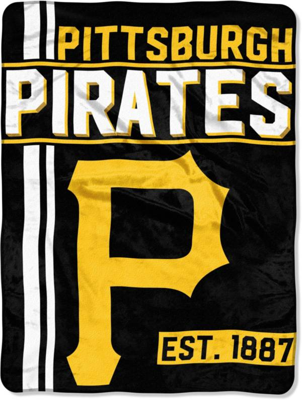 Northwest Pittsburgh Pirates Walk Off Micro Raschel Throw product image