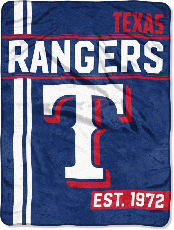 Northwest Texas Rangers Walk Off Micro Raschel Throw product image