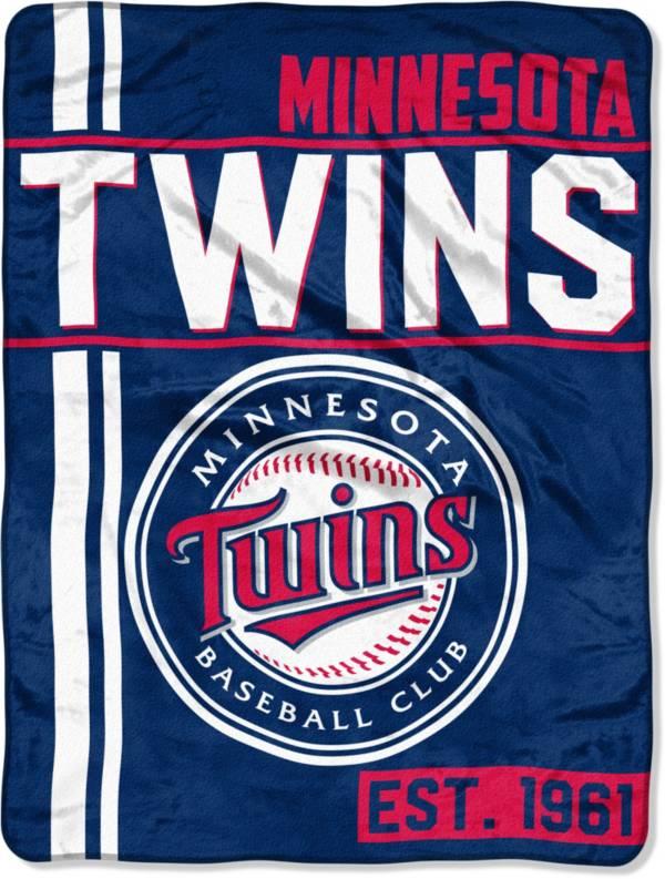 Northwest Minnesota Twins Walk Off Micro Raschel Throw product image
