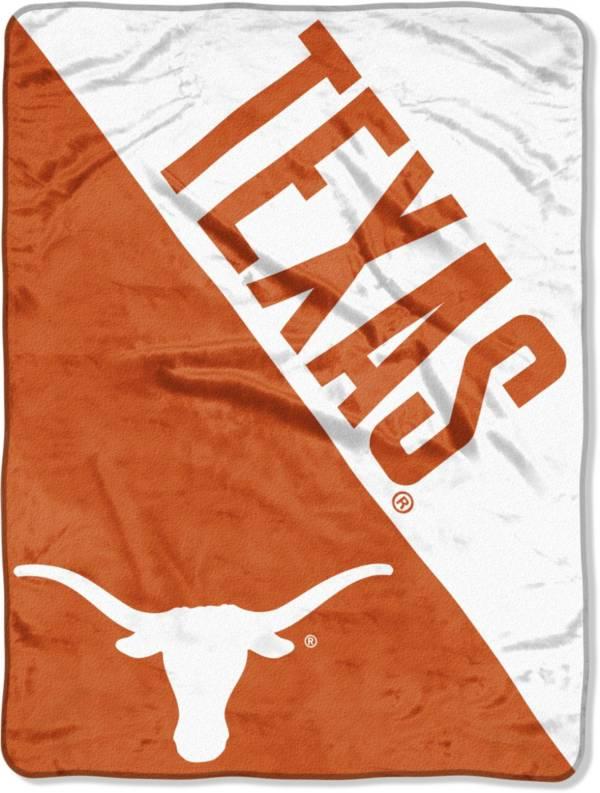 "Northwest Texas Longhorns ""Halftone"" Micro Raschel Throw product image"