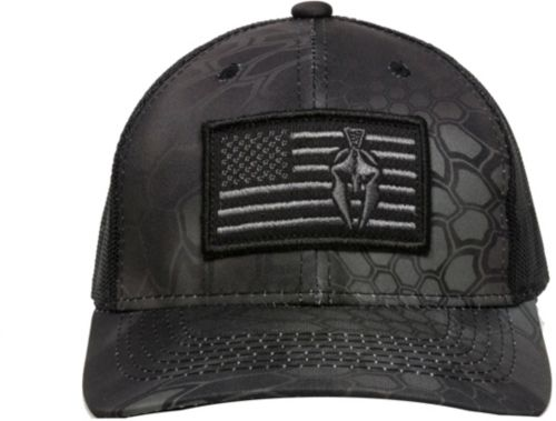 78ef55d0e5cb3 Outdoor Cap Men s Kryptek Typhon Flag Spartan Hat