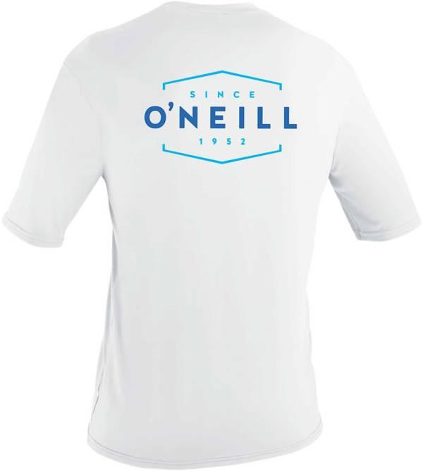 O'Neill Men's Basic Skins Dug Graphic Short Sleeve Rash Guard product image