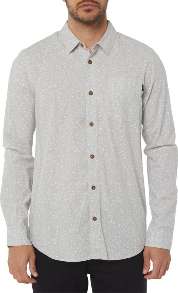 O'Neill Men's Phases Printed Woven Long Sleeve Shirt product image