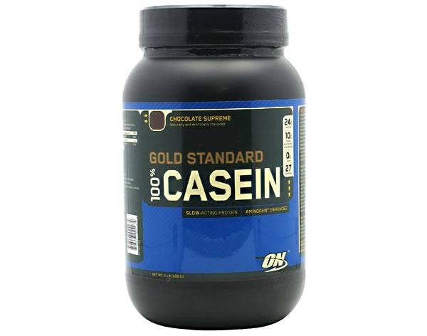 Optimum Nutrition Gold Standard 100% Casein Protein Powder Chocolate Supreme 26 Servings product image