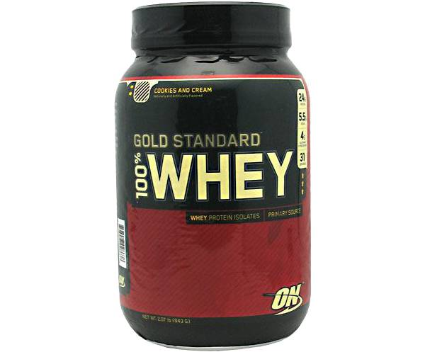 Optimum Nutrition Gold Standard 100% Whey Protein Powder Cookies & Cream product image
