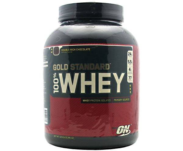 Optimum Nutrition 100% Whey Gold Standard Double Rich Chocolate 5 lbs product image