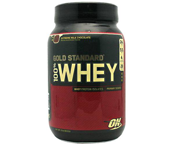 Optimum Nutrition 100% Whey Gold Standard Extreme Milk Chocolate 2 lbs product image