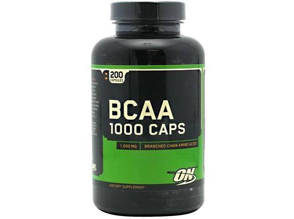 Optimum Nutrition BCAA 1000 Amino Acid Caps product image