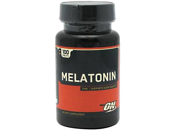 Optimum Nutrition Melatonin 100 Tablets product image