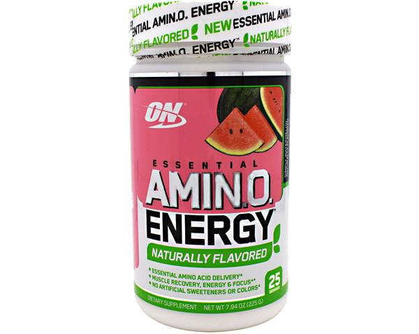 Optimum Nutrition Essential Amino Energy Naturally Flavored Watermelon 25 Servings product image