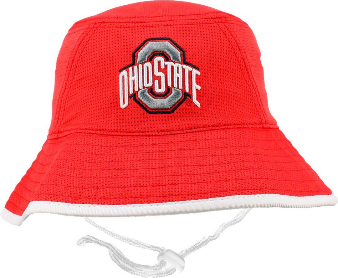 7c386286a4b566 OSU Men's Ohio State Buckeyes Scarlet Bucket Hat. noImageFound. Previous