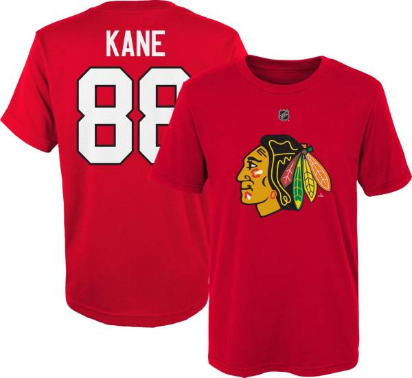 NHL Youth Chicago Blackhawks Patrick Kane #88 Red Player T-Shirt product image