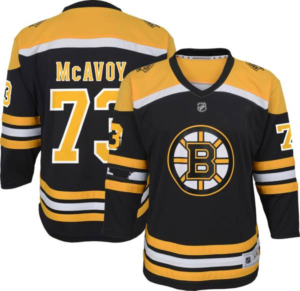 NHL Youth Boston Bruins Charlie McAvoy #73 Replica Home Jersey product image