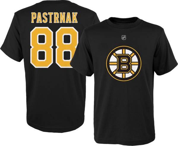 NHL Youth Boston Bruins David Pastrnak Black Tee product image