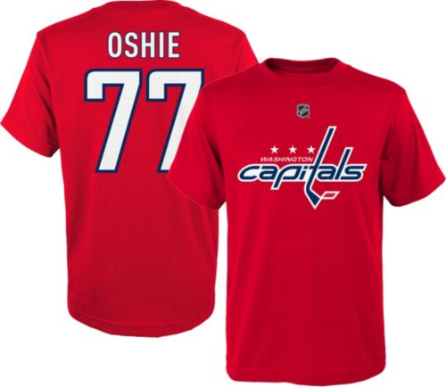 online store 61359 e4bce NHL Youth Washington Capitals T.J. Oshie  77 Red T-Shirt   DICK S ...