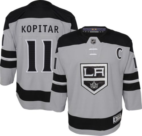 27d5f872d7b NHL Youth Los Angeles Kings Anze Kopitar #11 Premier Home Jersey.  noImageFound. Previous