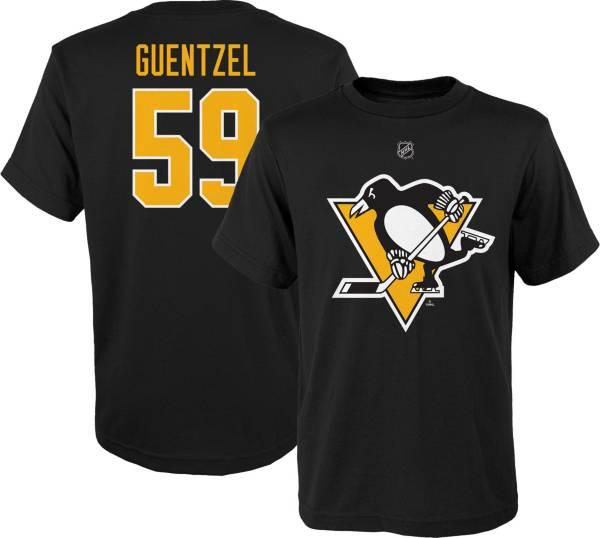 NHL Youth Pittsburgh Penguins Jake Guentzel #59 Black Player T-Shirt product image