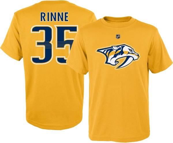 NHL Youth Nashville Predators Pekka Rinne #35 Gold T-Shirt product image