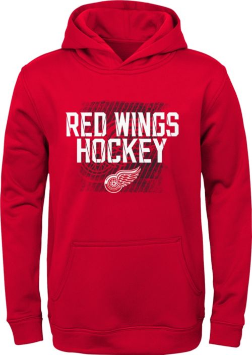 9be1582a4eb NHL Youth Detroit Red Wings Attitude Red Pullover Hoodie. noImageFound. 1