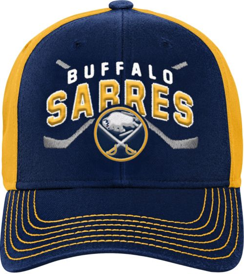 1ddcd59608c NHL Youth Buffalo Sabres Basic Strucutred Navy Adjustable Hat.  noImageFound. Previous
