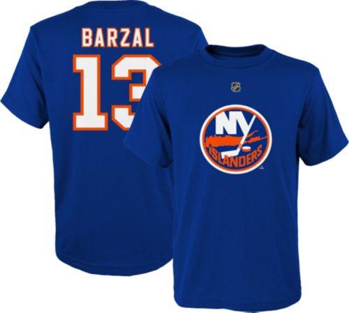 NHL Youth New York Islanders Matthew Barzal  13 Royal Player T-Shirt ... 8153c5371
