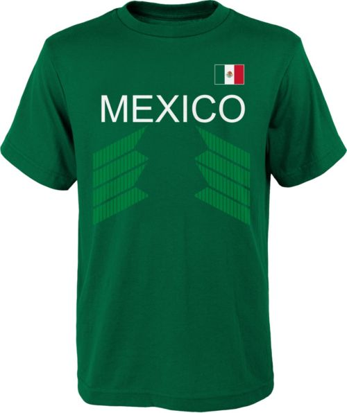 42bf0fb689e Outerstuff Youth Mexico One Team Green T-Shirt