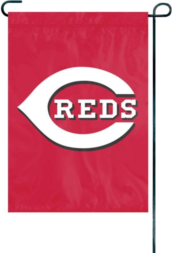 Party Animal Cincinnati Reds Premium Garden Flag product image