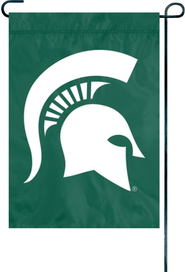Party Animal Michigan State Spartans Premium Garden Flag product image