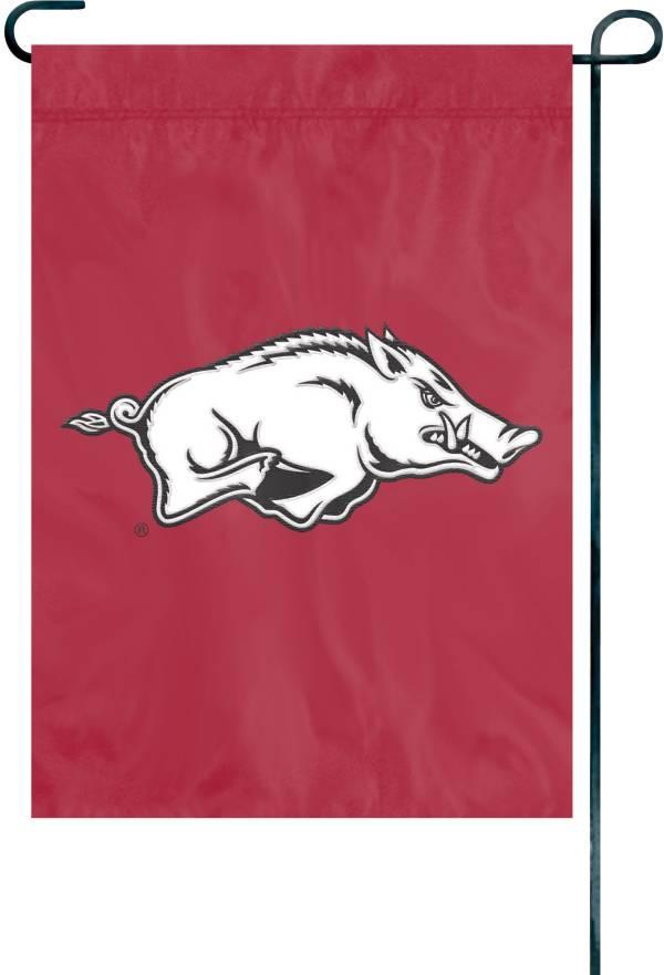 Party Animal Arkansas Razorbacks Premium Garden Flag product image