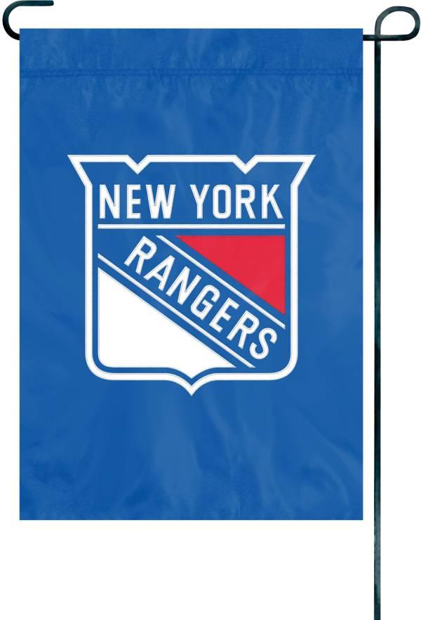 Party Animal New York Rangers Premium Garden Flag product image