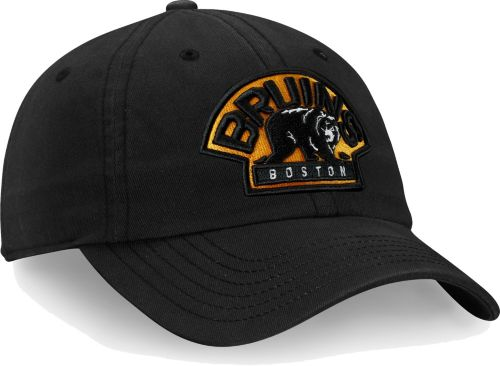 2a323fbd99e NHL Men s Boston Bruins Core Black Adjustable Hat. noImageFound. Previous