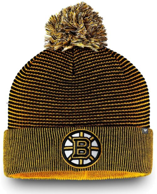 24667d574224dc NHL Men's Boston Bruins Waffle Knit Beanie | DICK'S Sporting Goods