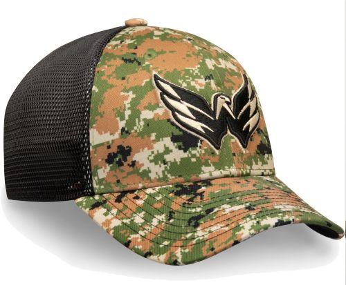 c97f7fd1968 NHL Men s Washington Capitals Camo Mesh Trucker Flex Hat. noImageFound.  Previous