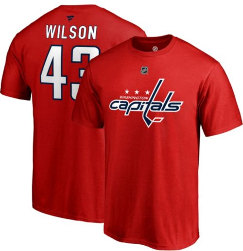NHL Men s Washington Capitals Tom Wilson  43 Red Player T-Shirt.  noImageFound. Previous b370ad6dec2