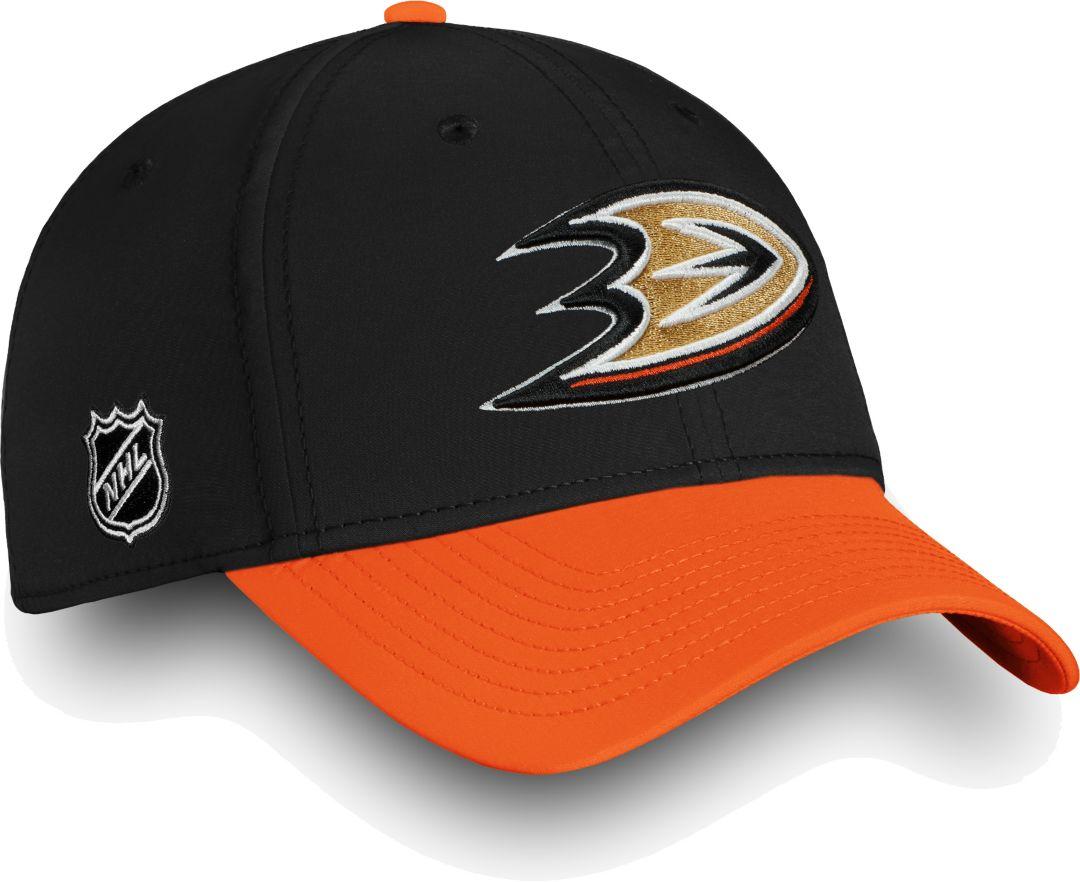 7a62e5289f24cf NHL Men's Anaheim Ducks Iconic Black Flex Hat. noImageFound. Previous