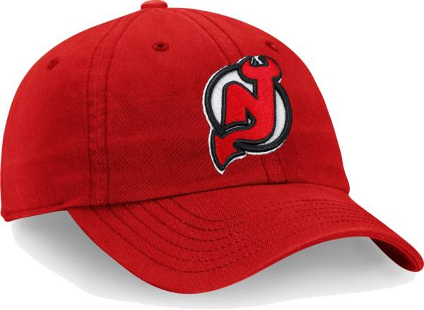NHL Men's New Jersey Devils Core Red Adjustable Hat product image