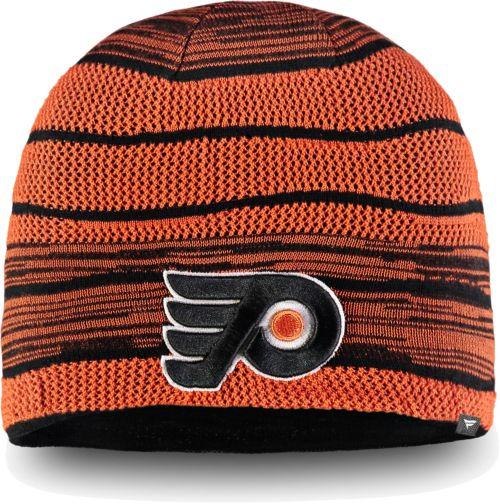 NHL Men s Philadelphia Flyers Iconic Knit Beanie  32757ee5d53