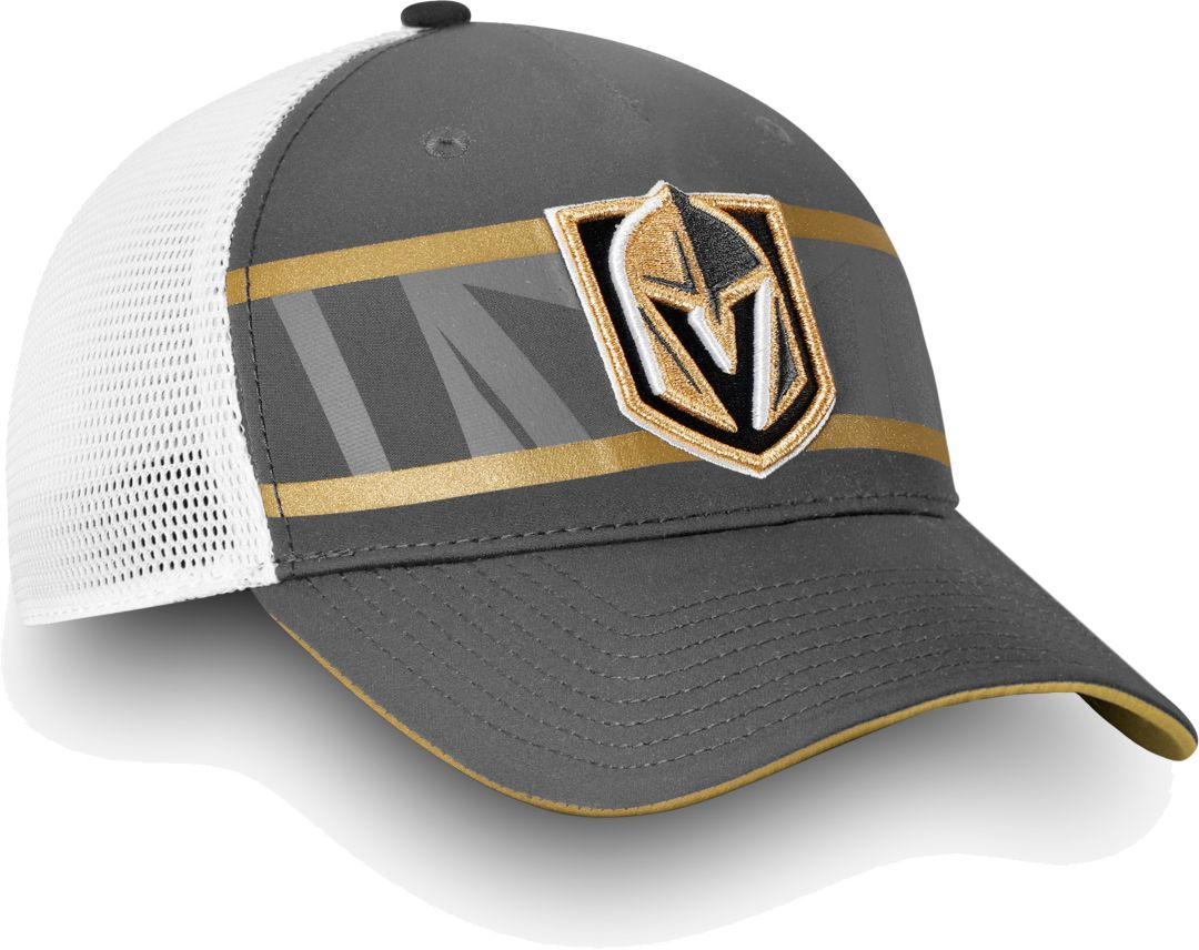 size 40 eba97 3a1f7 NHL Men s Vegas Golden Knights Authentic Pro Second Season Grey Trucker Adjustable  Hat. noImageFound. Previous