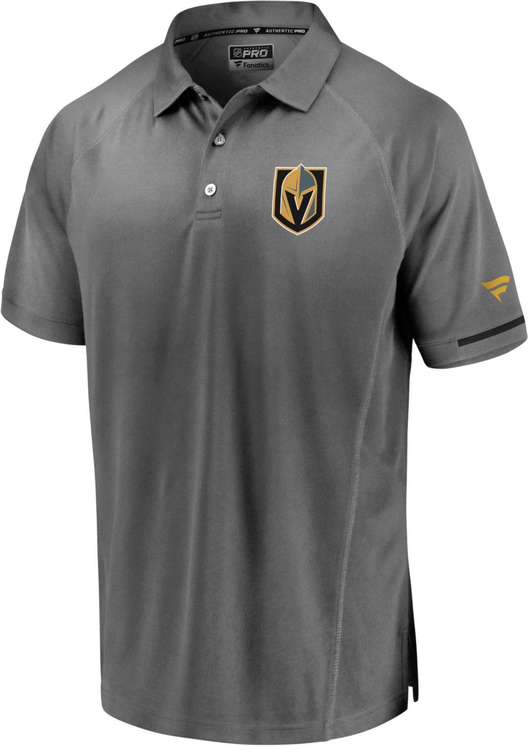 best website 187e3 c12c3 NHL Men's Vegas Golden Knights Authentic Pro Rinkside Grey Polo