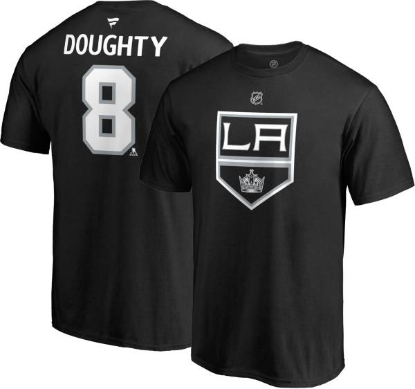 NHL Men's Los Angeles Kings Drew Doughty #8 Black Player T-Shirt product image