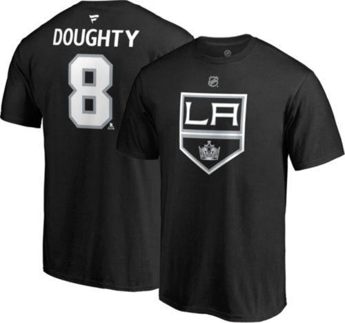 ecd0ed785359e NHL Men s Los Angeles Kings Drew Doughty  8 Black Player T-Shirt ...