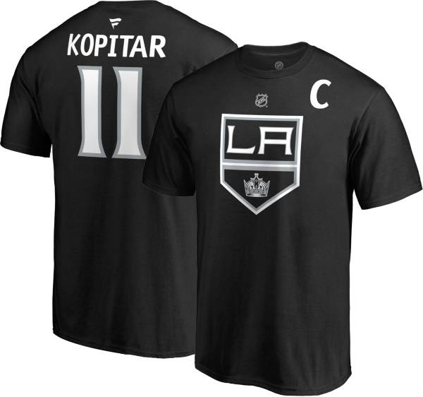 NHL Men's Los Angeles Kings Anze Kopitar #11 Black Player T-Shirt product image