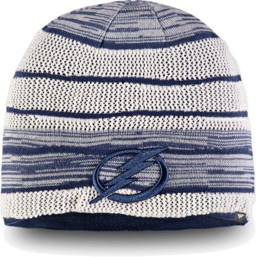NHL Men s Tampa Bay Lightning Iconic Knit Beanie. noImageFound. 1 b40b0e07b5d