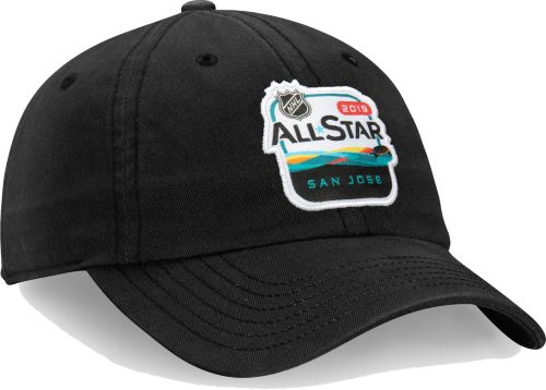 NHL 2019 NHL All-Star Game Logo Black Adjustable Hat  f548f65be236