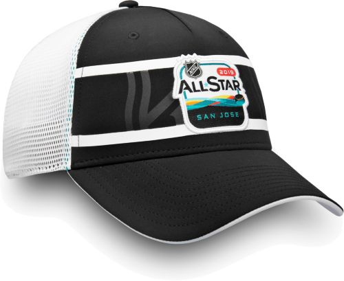7286e8fd339b NHL 2019 NHL All-Star Game Logo Black Mesh Adjustable Hat
