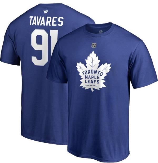 NHL Men's Toronto Maple Leafs John Tavares #91 Royal Player T-Shirt product image