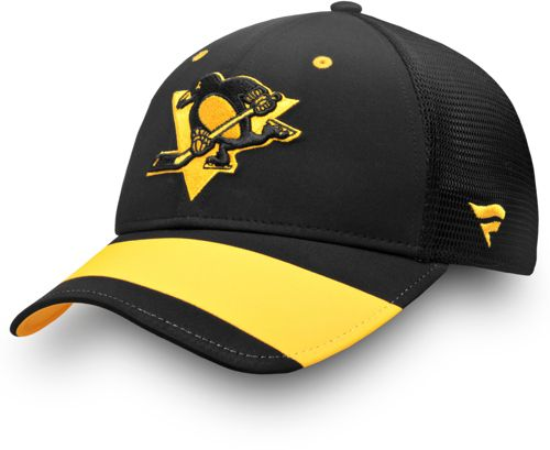 NHL Men s 2019 Stadium Series Pittsburgh Penguins Trucker Black ... 6714538a3e9f